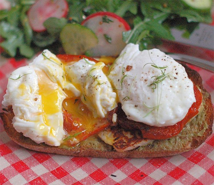 9. Mediterranean Style Egg and Cheese, high protein breakfast