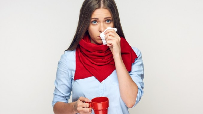 Cold and flu season in here