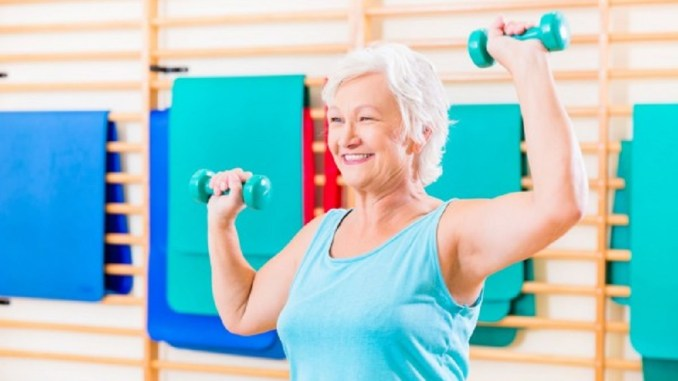 tips for seniors to exercise at home